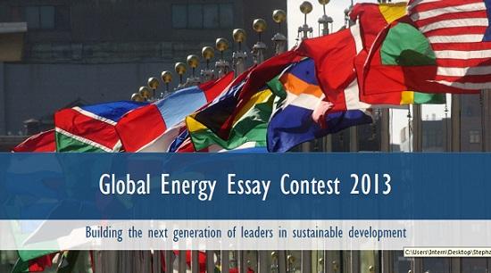 GlobalEnergyEssayContest2013
