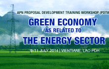 Call for Participation of Young Scientists and Practitioners APN Proposal Development Training Workshop Vientiane, Lao PDR; 9-11 July 2014 The APN annual Proposal Development Training Workshop (PDTW) will be held […]