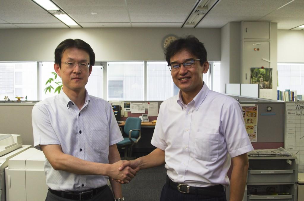 Mr. Hiroshi Tsujihara (left) officially joins APN as of 11 July 2014