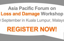 A one-day workshop on Loss and Damage will be hosted by the Asia Pacific Forum on Loss and Damage, an initiative sponsored by the APN. The event invites organisations conducting […]