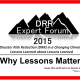 "A conference on ""Why Lessons Matter"". The Disaster Risk Reduction (DRR) in a changing Climate: Lessons Learned about Lessons Learned forum will be held in Antalya, Turkey the 10th – […]"