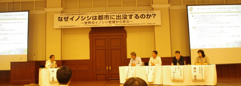 Dr. Hayashi, Director, WMI Hyogo, facilitates the panel discussion.
