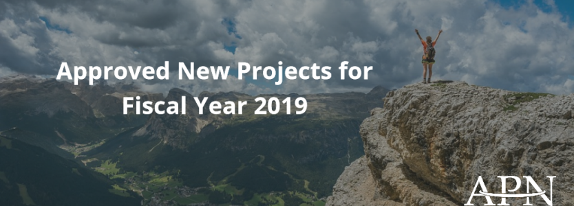Approved New Projects for Fiscal Year 2019   Asia-Pacific