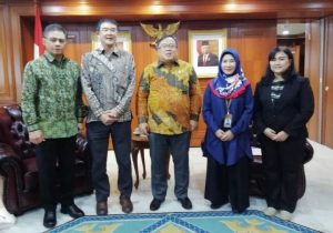 Courtesy call to Ministry of Research and Technology Indonesia