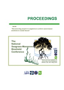 The National Seagrass-Mangrove Bioshield Conference_Fortes and Salmo 2016.pdf