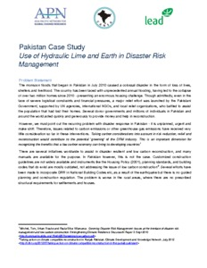 Case Study 4- Use of Hydraulic Lime- Pakistan.pdf