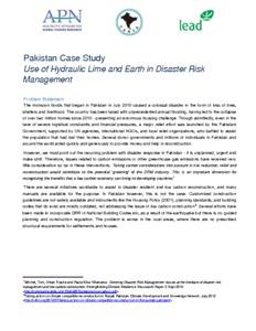 Case Study 4- Use of Hydraulic Lime- Pakistan.pdf
